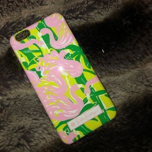 Never used Lilly Pulitzer iPhone case